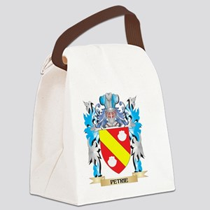 Petrie Coat of Arms - Family Cres Canvas Lunch Bag