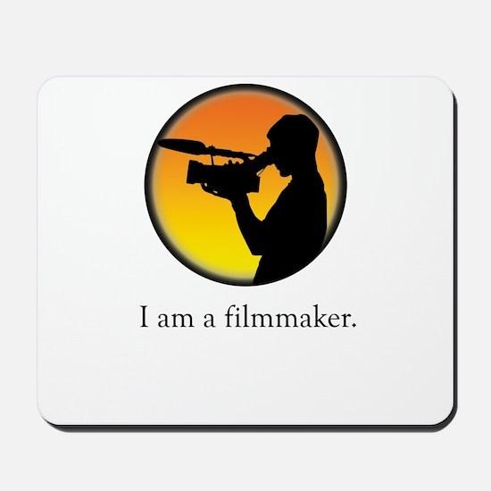 i am a filmmaker Mousepad
