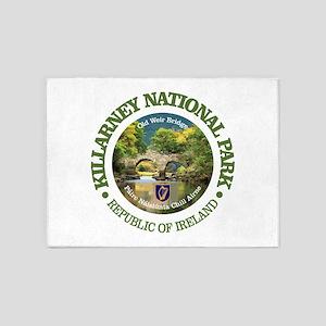 Killarney National Park 5'x7'Area Rug
