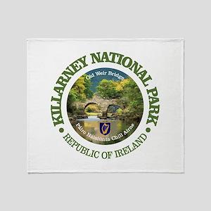 Killarney National Park Throw Blanket