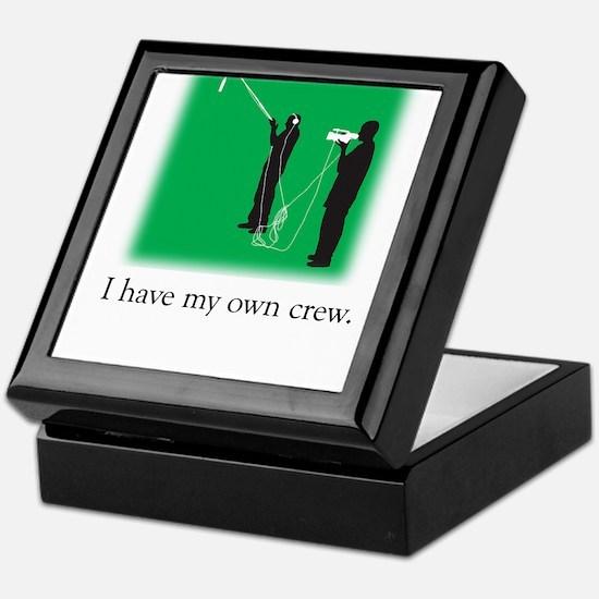 Have my own crew Keepsake Box