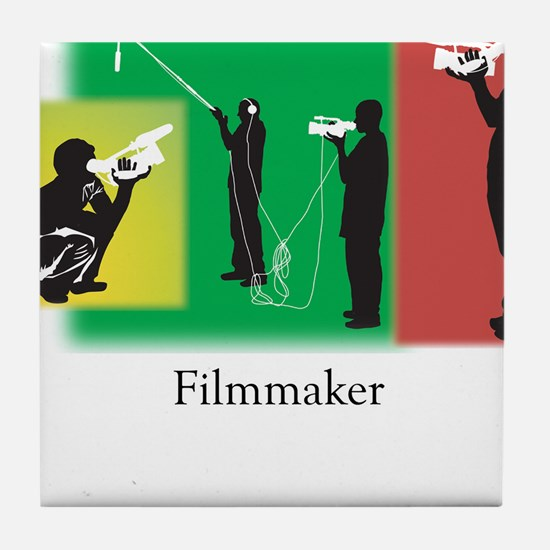 Filmmaker Tile Coaster