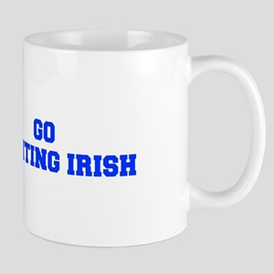 Fighting Irish-Fre blue Mugs