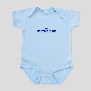 Fighting Irish-Fre blue Body Suit