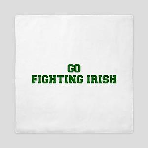 Fighting Irish-Fre dgreen Queen Duvet