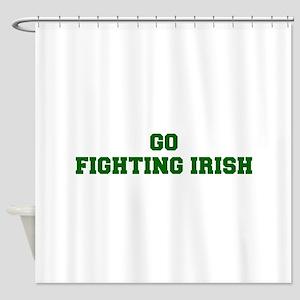 Fighting Irish Fre Dgreen Shower Curtain