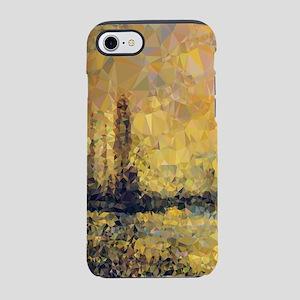 Monet Gold Landscape Low Poly iPhone 7 Tough Case