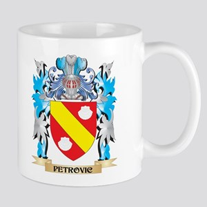 Petrovic Coat of Arms - Family Crest Mugs