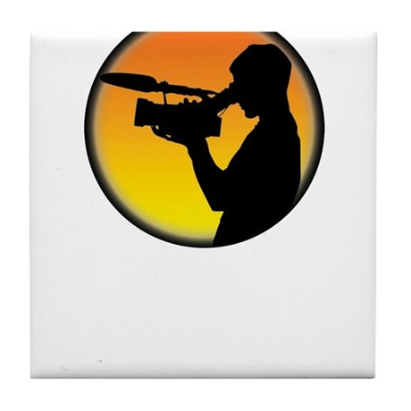 Plain Film Logo Tile Coaster