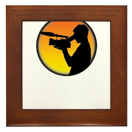 Plain Film Logo Framed Tile
