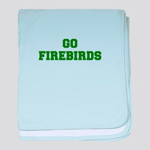 Firebirds-Fre dgreen baby blanket