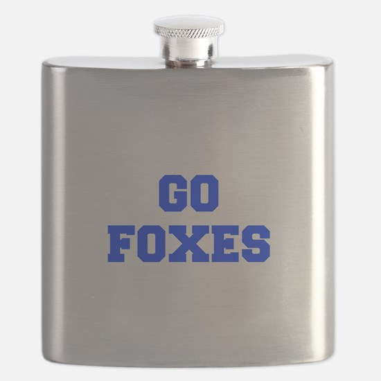 Foxes-Fre blue Flask