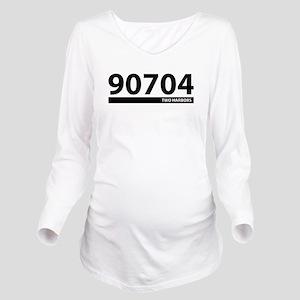 90704 Two Harbors Long Sleeve Maternity T-Shirt