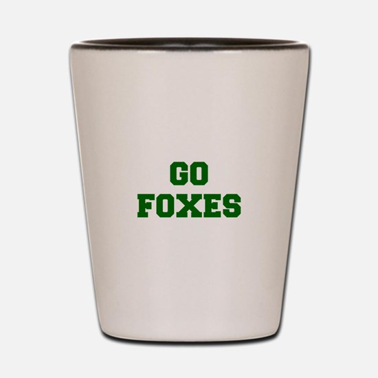 Foxes-Fre dgreen Shot Glass