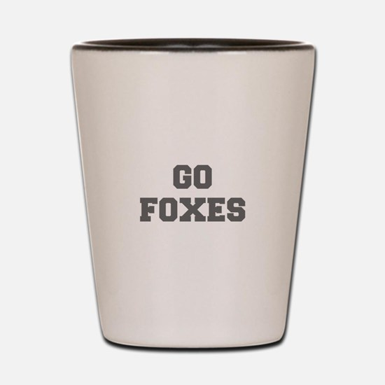 FOXES-Fre gray Shot Glass
