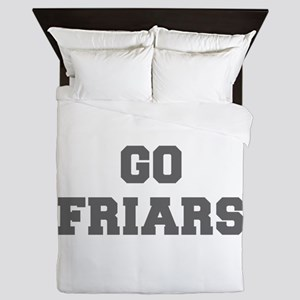 FRIARS-Fre gray Queen Duvet