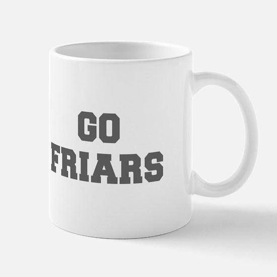 FRIARS-Fre gray Mugs