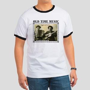 Old Time Music Ringer T-Shirt