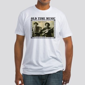 Old Time Music Fitted Light T-Shirt