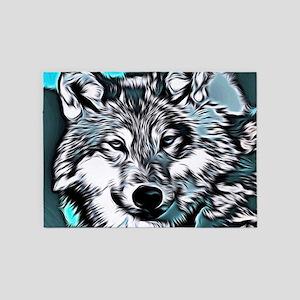 Wolf 2014-0983 5'x7'Area Rug