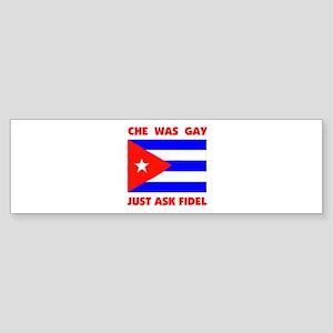 GAY CHE Bumper Sticker