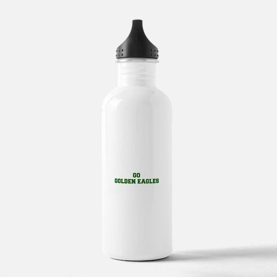 Golden Eagles-Fre dgreen Water Bottle