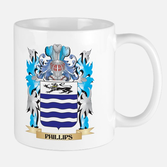 Phillips- Coat of Arms - Family Crest Mugs