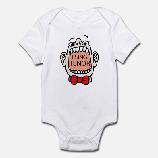 I Sing Tenor Infant Bodysuit