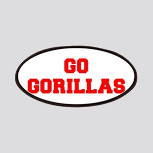 GORILLAS-Fre red Patch
