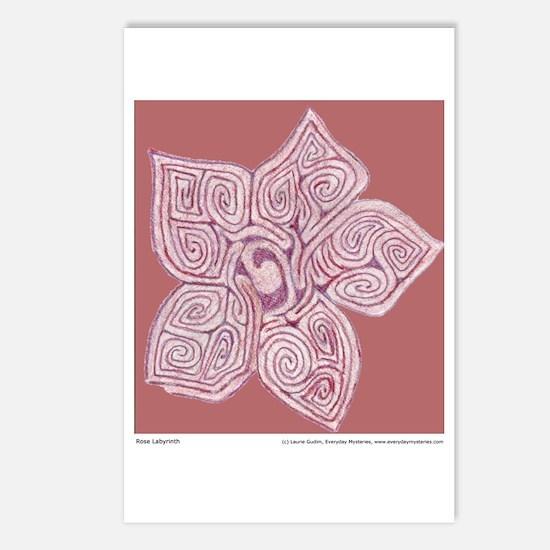 Rose Labyrinth postcards (Pkg of 8)