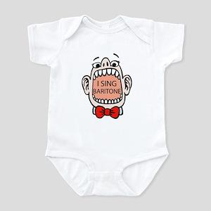 I Sing Baritone Infant Bodysuit