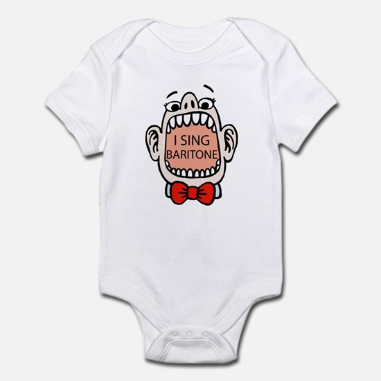 I Sing Baritone Infant Bodysuit