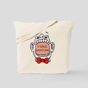 I Sing Baritone Tote Bag