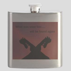 Viking Rising Flask