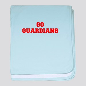 GUARDIANS-Fre red baby blanket