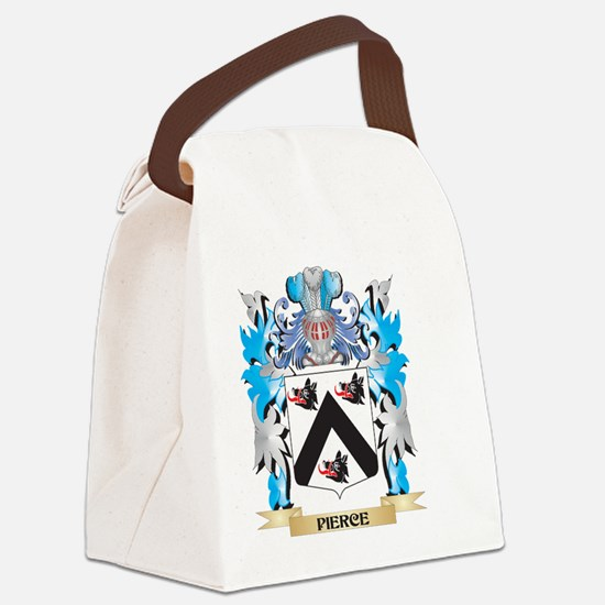 Pierce Coat of Arms - Family Cres Canvas Lunch Bag
