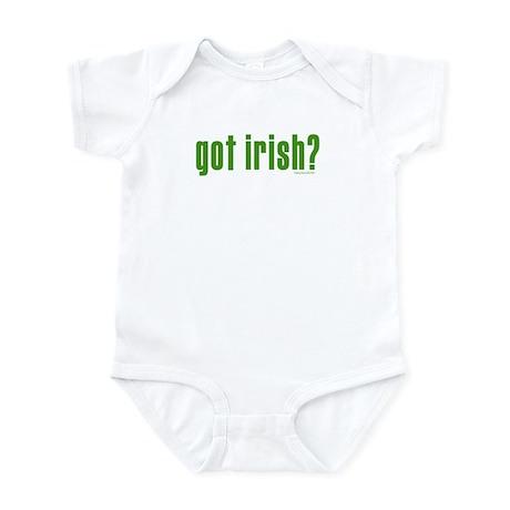 got irish? Infant Bodysuit