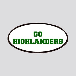 Highlanders-Fre dgreen Patch