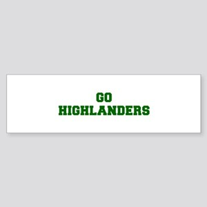 Highlanders-Fre dgreen Bumper Sticker