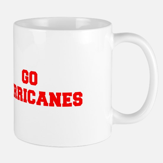 HURRICANES-Fre red Mugs