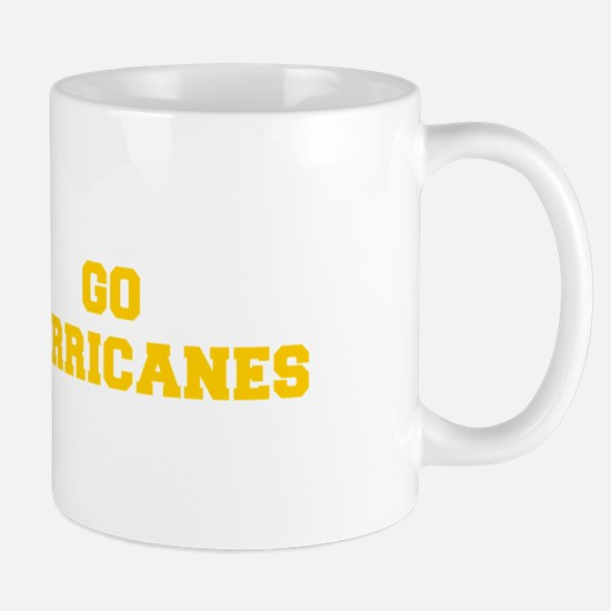 Hurricanes-Fre yellow gold Mugs