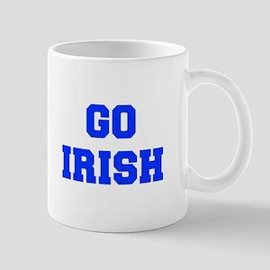 Irish-Fre blue Mugs