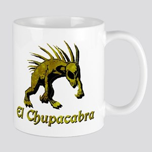 Chupacabra Yellow Rust Mug