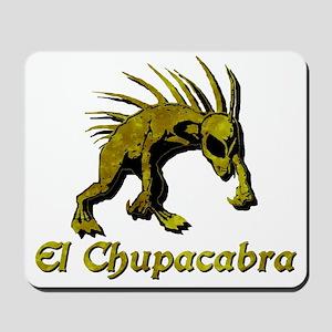 Chupacabra Yellow Rust Mousepad