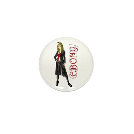 Ebony Mini Button