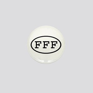 FFF Oval Mini Button