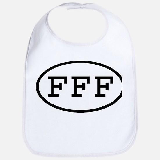 FFF Oval Bib