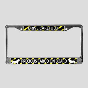 Precious Cargo Cardigan Corgi License Plate Frame