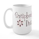 Scrapbook Diva Large Mug