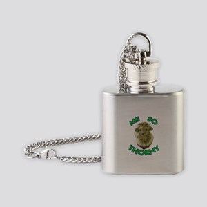 Me So Thorny Flask Necklace
